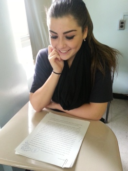 "Focusing on grades has become a big part of students lives influencing their education as well as mental health. ""I probably focus way too much on my grades. It is worth getting the good grades, but it's very stressful,"" sophomore said. Photo by Amada Guapisaca."